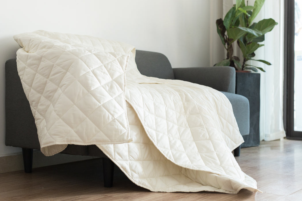 Cream 9 Layer Weighted Blankets-Simple Being-SimplyLife Home