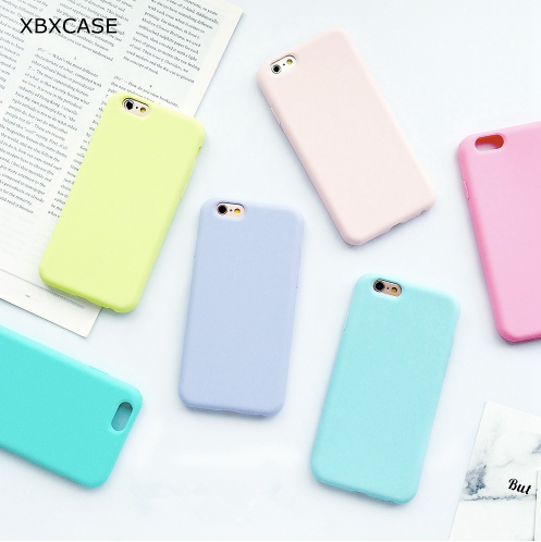Case, protector, soft back cover eight different colors for iphone 5 5s 5SE 6 6s 6plus 7 7plus 8 8plus X. Special offer for a limited time. worldwide shipping