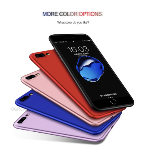Case, protector, soft back cover, four different metallic colors for iphone 6 6s 6plus 7 7plus. Worldwide shipping