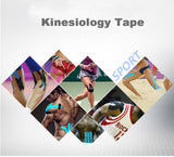 Kinesio Taping. 5m x 5cm Waterproof. Special Price For Limited Time!!! 15 different colors, Worldwide Shipping