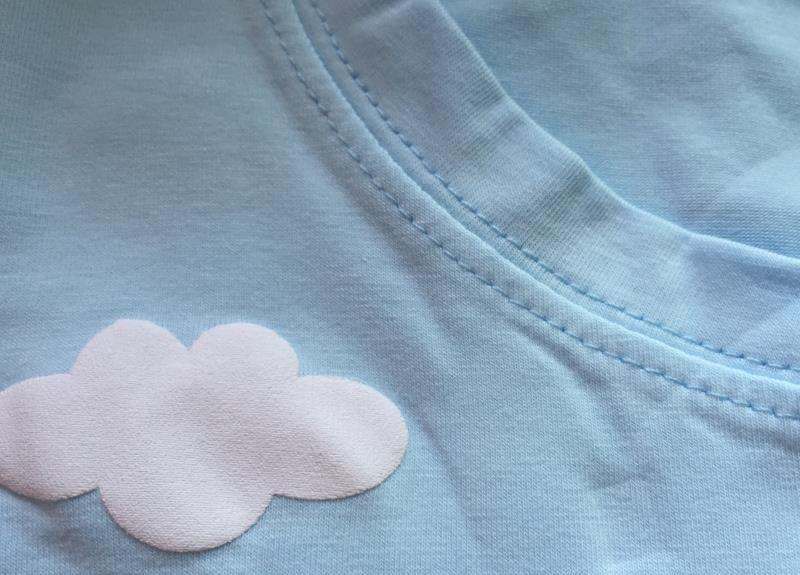 COTTON CANDY FLUFFY CLOUDS T-SHIRT-