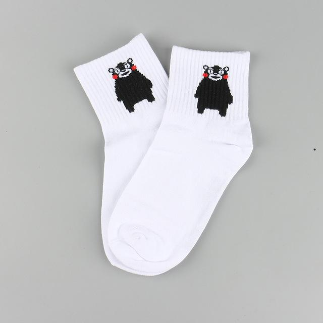 Harajuku Cotton Students Socks-1-