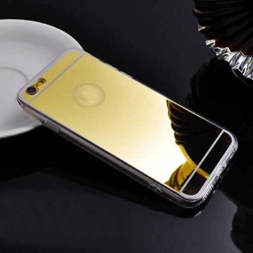 Luxury Mirror Shiny iPhone Cases-Gold-For iPhone 5 5s SE-