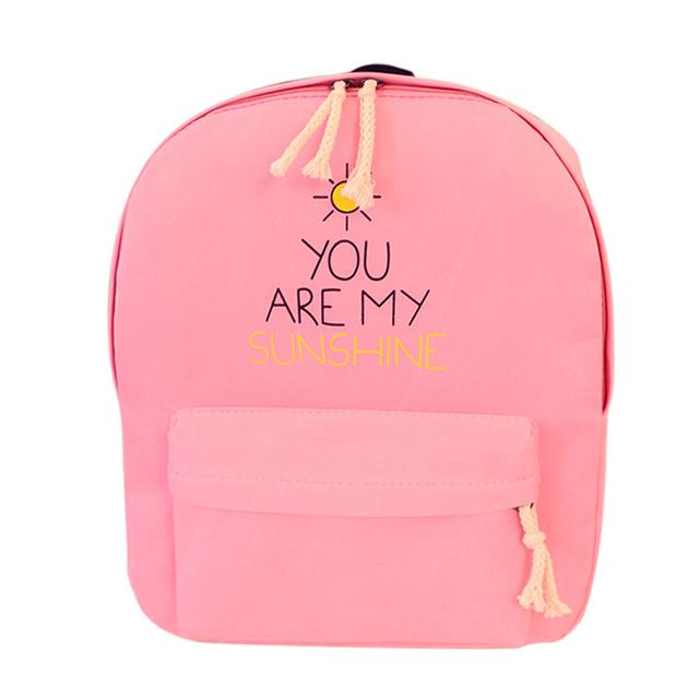 You Are My Sunshine Women Backpack-03-