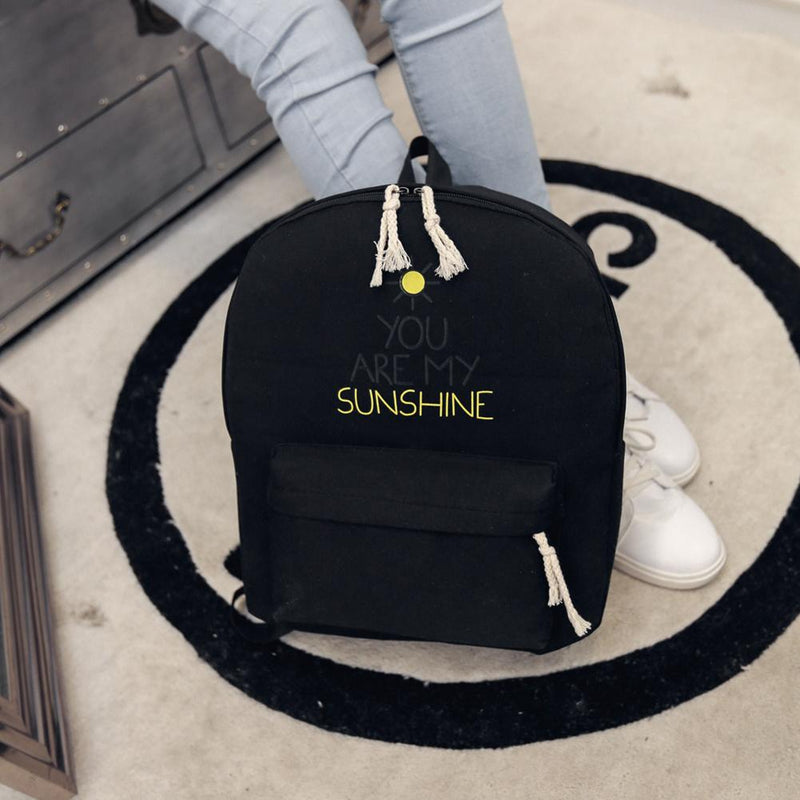 You Are My Sunshine Women Backpack-