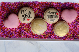 Galentine's Day French Macarons