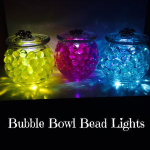 Bubble Bowl Bead Lamps