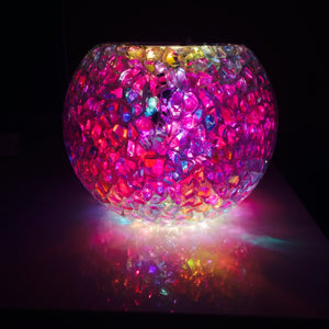 Stained Glass Bubble Bead Lamp
