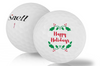 Happy Holidays Logo'd MTB-BLACK Ball (MIN 1 DZN)