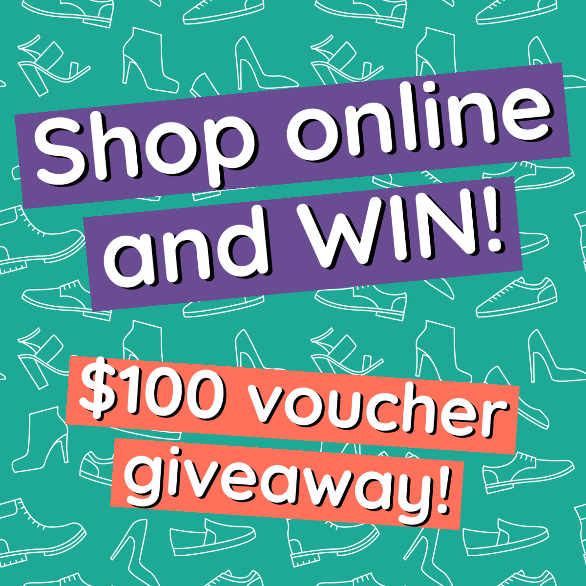 Shop online and win! $100 voucher giveaway
