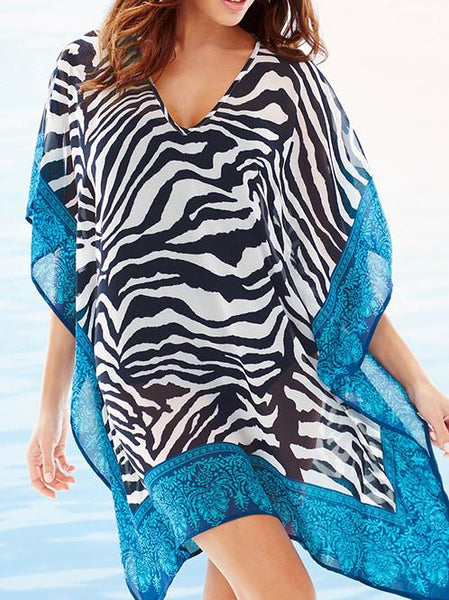 Chiffon Bathing Suits Beach Cover Up Casual Top