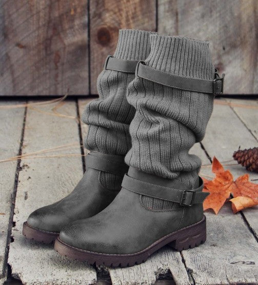 Knitted Knit Boots Women s Boots Shoes – Shop For Selection a51e8e73e3