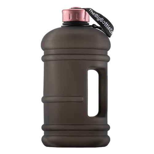 The Big Bottl Co Black Rose 2.2L Water Bottle