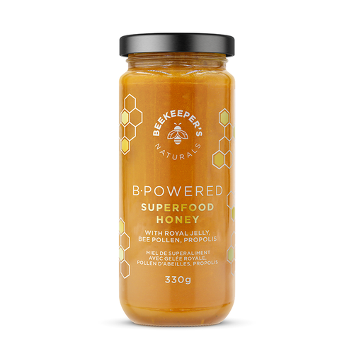 Beekeeper's Naturals B.Powered Superfood Honey at Good Goddess