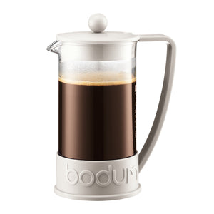 Bodum Brazil French Press White | Coffee Maker - Good Goddess