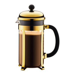 Bodum Chambord French Press - Gold | Coffee Maker - Good Goddess