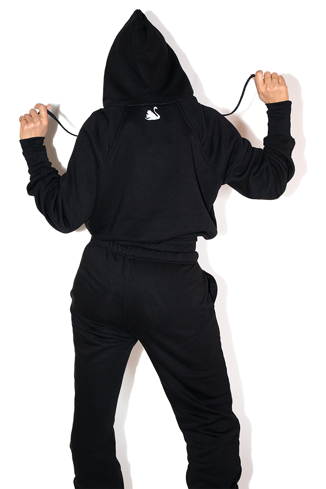 Good Goddess Sweatsuit in Black - 100% Cotton