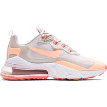 Nike Air Max 270 React 270- summit white/neon peach
