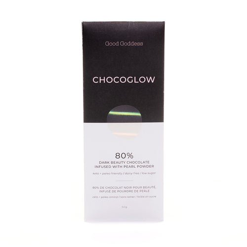 Chocoglow Dark Beauty Chocolate with Pearl Powder - Good Goddess