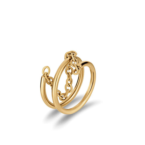 Ellie Vail Angelina Chain Ring