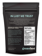 GRANOLUST | Premium Gluten Free Granola Nutritional Information- Good Goddess