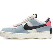 Nike Air Force 1 black/sunset/light blue - Good Goddess