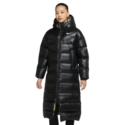 Nike Down Parka in Black - Good Goddess