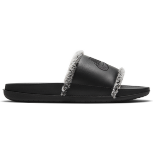 Nike Leather Slides with Faux Fur Trim - Spring/Summer 2021 Good Goddess Collection