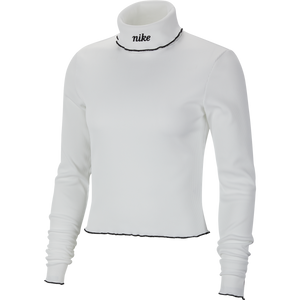 Nike Women's Ribbed Long-Sleeve Top
