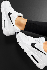 Nike Air Max 90 Women's Shoe - white/black/white