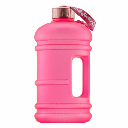 The Big Bottle Co Pink Rose 2.2L Water Bottle