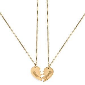 Ellie Vail Bianca Best Friend Necklace - detail