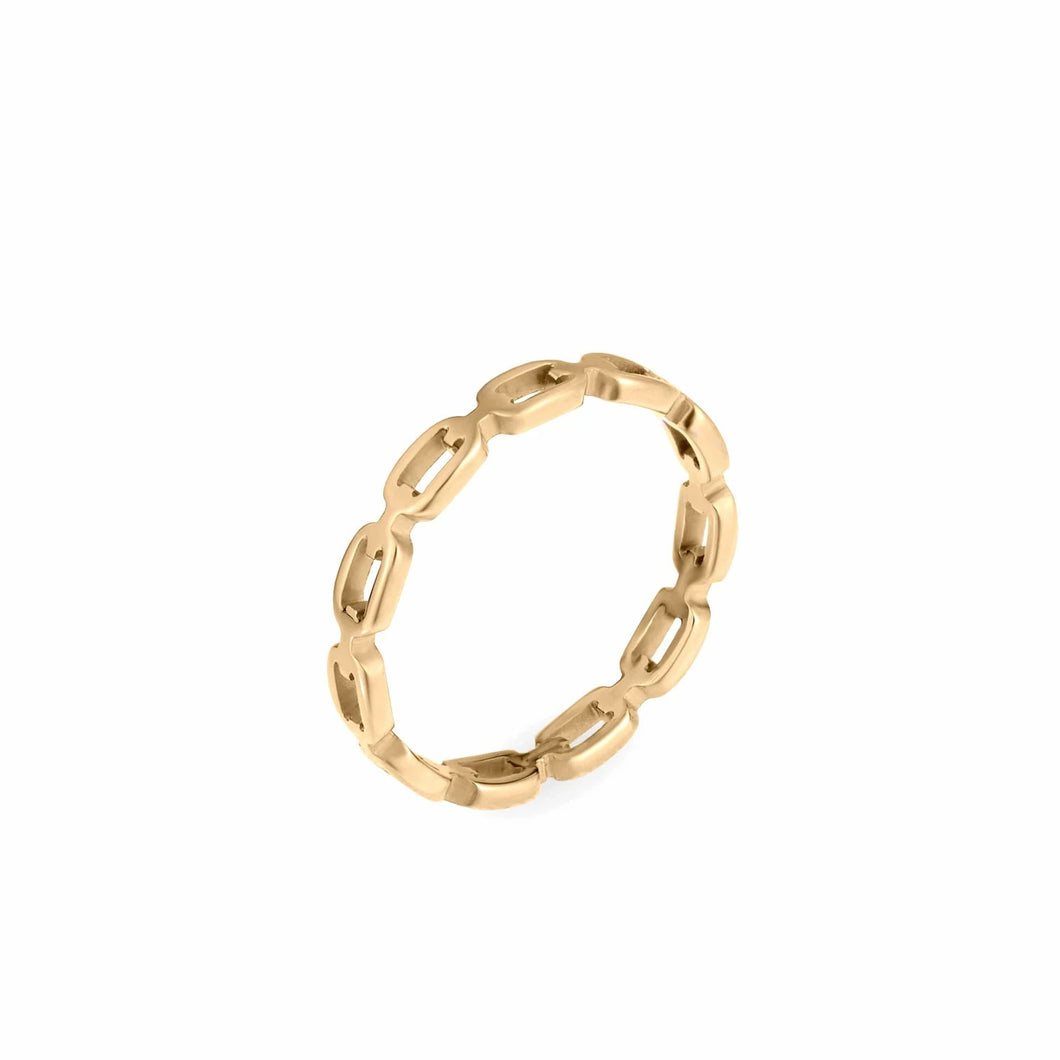 Ellie Vail Billy Dainty Chain Link Ring