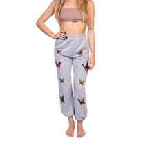 GG Butterfly sweatpants in grey