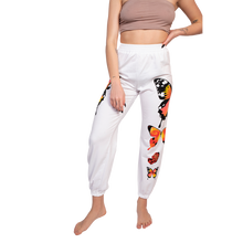 GG Butterfly sweatpants in white