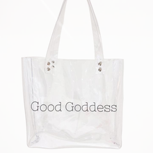 GG Crystal Clear Tote | Accessories - Good Goddess Style