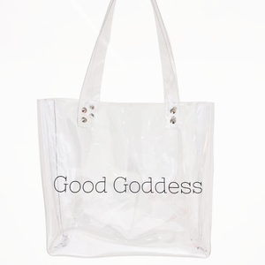 GG Crystal Clear Tote