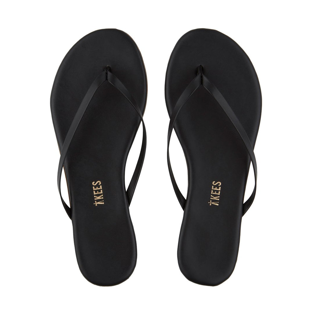 TKEES Lily Flipflop in Sable