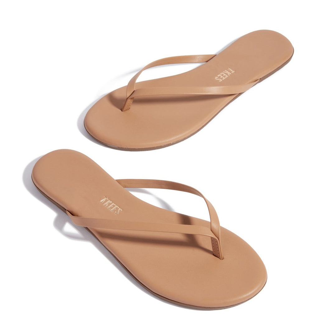 TKEES Nude Lily Flipflop in Cocobutter | Shoes - Good Goddess