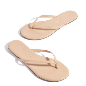 TKEES Sunkissed Nude Lily Flipflop | Shoes - Good Goddess