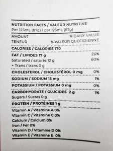 coconut cloud Good Goddess coconut yogurt nutritional information