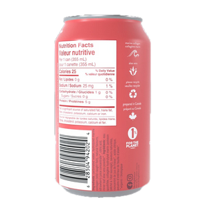 Gldn Hour Collagen Sparkling Water Strawberry Mint back