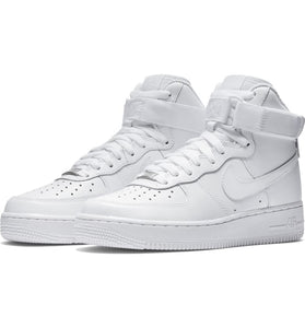 NIKE Air Force 1 High Top white womens sneaker