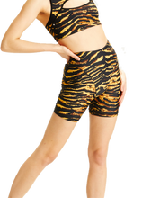Adam Selman French Cut Tiger Print Shorts | Activewear - Good Goddess