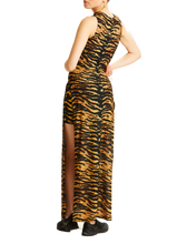 Adam Selman Sport Tiger Slit Dress | Activewear - Good Goddess