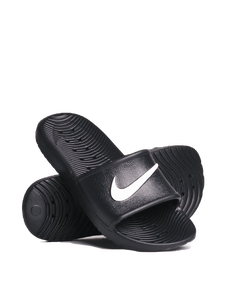 Nike Kawa Women's Slide black shower logo