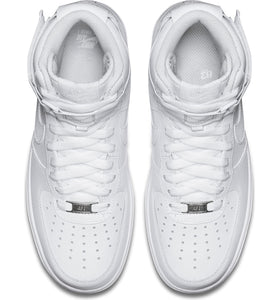 NIKE Air Force 1 High Top womens white sneaker