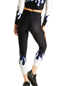 Adam Selman Sport Flame Legging | Activewear - Good Goddess Style