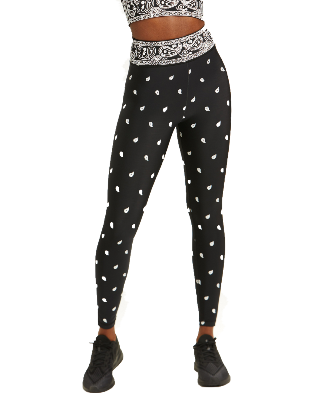Adam Selman Sport Bandana Leggings | Activewear - Good Goddess Style