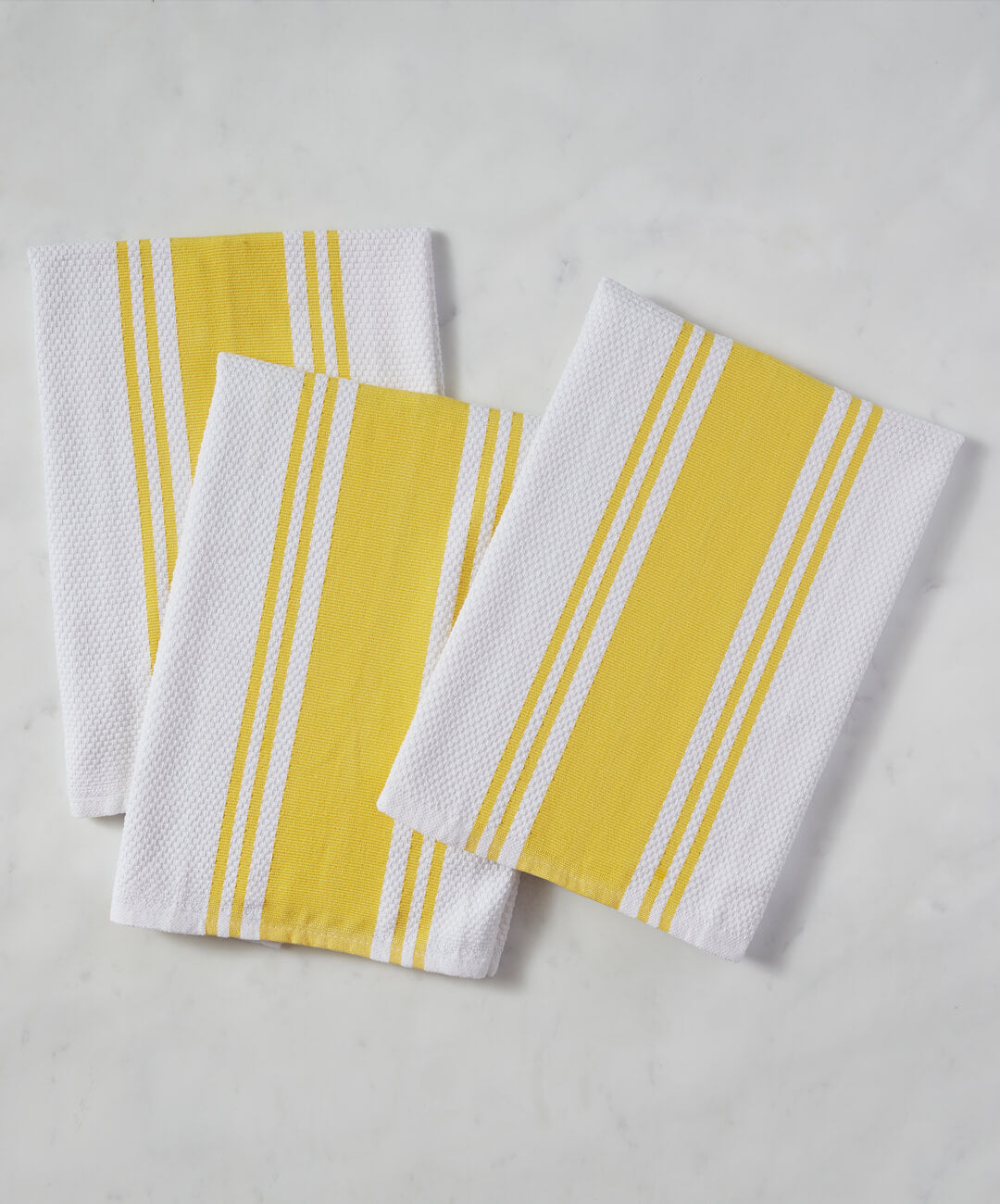 Kitchen Towel   Set Of 3   Yellow